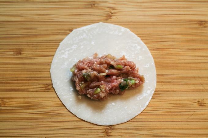 open dumpling