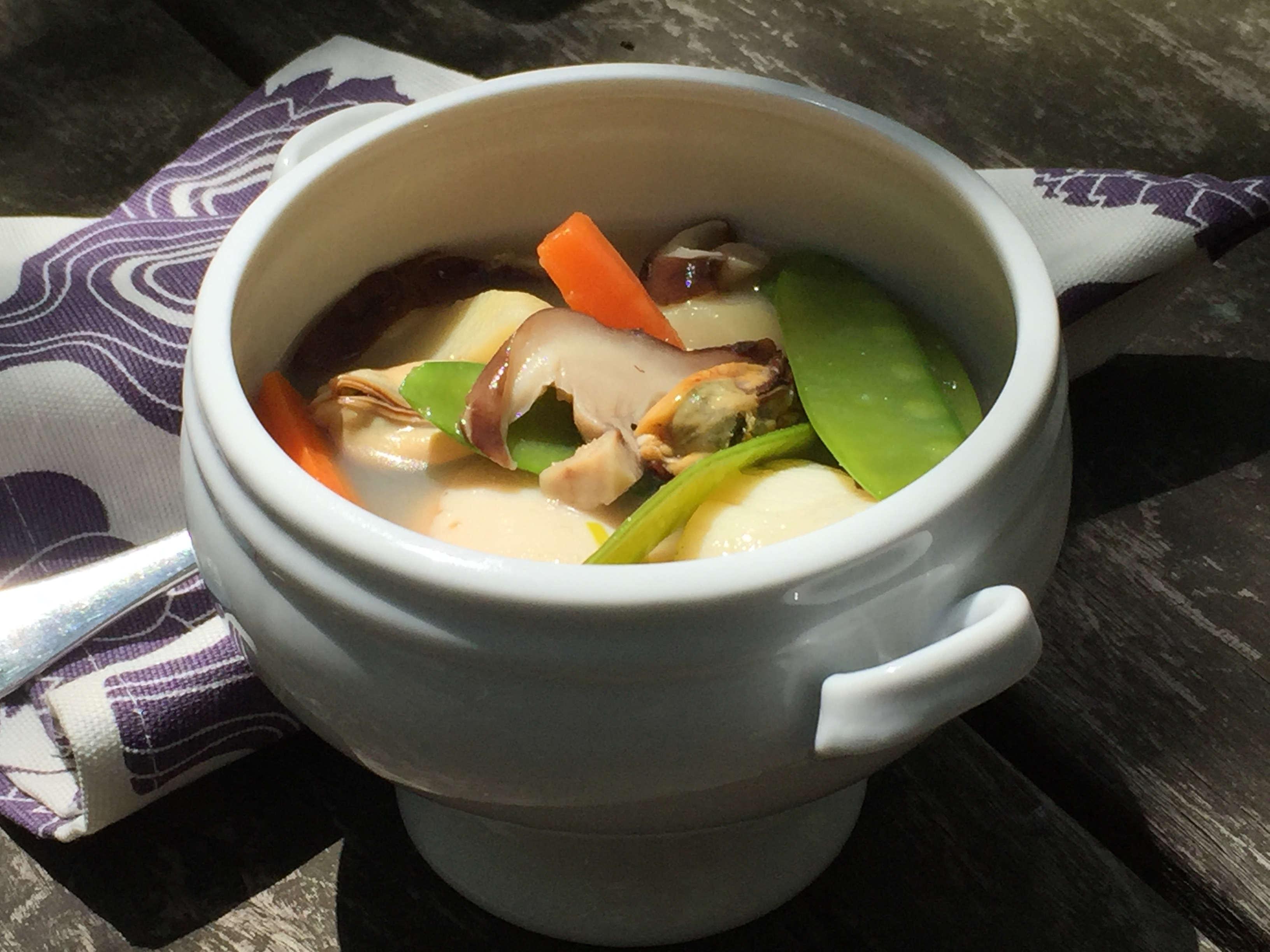 Pot au feu outside